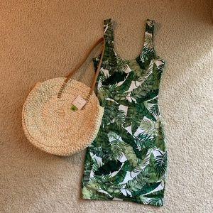 H&M Palm Print Dress
